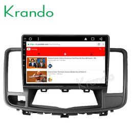 """Car Audio Stereo Touch Screen Australia - Krando Android 8.1 10.1"""" IPS Touch screen car dvd Multmedia player for NISSAN TEANA 2008-2012 audio player gps navigation wifi BT"""