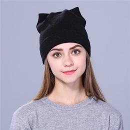 9f8b8a1de94 Winter Hats for Women Beanies Cotton Blended Hip Hop Caps Slouch Warm Hat  Festival Unisex Turban Cap Solid Color Bonnet Hats
