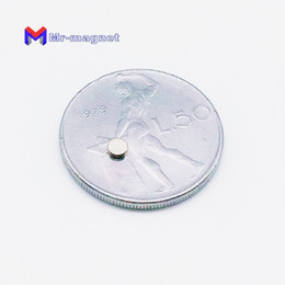 Strong Small magnetS online shopping - 100Pcs mm x mm Small Super Strong Magnet Powerful Neodymium Rare Earth NdFeB Permanent Magnets Mini Headphone speaker Thin Disk