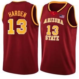 NCAA 13 Harden Allen 3 Iverson Kobe 33 Bryant Jersey colegial Faculdade Basquete Camisas Len 34 Viés Bordado venda por atacado
