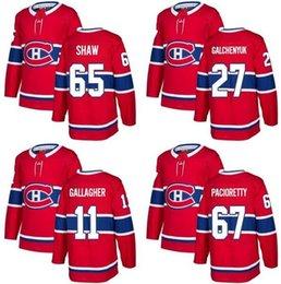 $enCountryForm.capitalKeyWord Australia - 2018 New Brand Adults Montreal Canadiens 11 Brendan Gallagher 27 Alex Galchenyuk 65 Shaw 67 Pacioretty Red Ice Hockey Jerseys Accept Custom