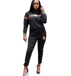 $enCountryForm.capitalKeyWord UK - New Omen Tracksuit Tiger Head Print Sweatshirt +Pants Set Women Plus Size Jogging Sport Suit Soft Long Sleeve Tracksuit Sportswear S -3xl