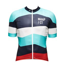 China New 2019 MAAP Cycling jersey bike clothes Bicycle Clothing quick dry Men Wear short sleeve shirt summer mtb sports jersey K052908 cheap maap jersey suppliers