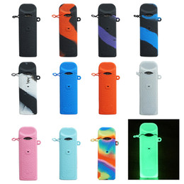 Kit covers online shopping - smok nord Silicon Case Sleeve Carrying Pouch cover non slip with mouthpiece dust cap leather Cases fit Nord Pod Kit