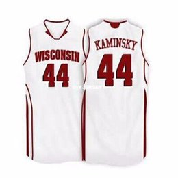 badgers jersey 2019 - Cheap High Quality Men's Wisconsin Badgers Basketball Jerseys #44 Frank Kaminsky Jersey College Top Stitched Custom
