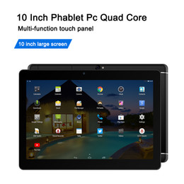 Android tAblets 16gb online shopping - Quad Core Inch Tablet Android Mtk6582 G G touch Screen G GSM phablet Cheap Tablets Support OTG Wifi