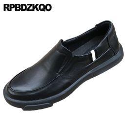 $enCountryForm.capitalKeyWord Australia - black slip on men british style casual 2019 fashion shoes comfort Italy lightweight runway brand italian luxury flats european