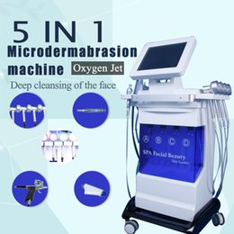 Hydrodermabrasion macHines online shopping - 2020 Arrival Water Dermabrasion Deep Cleansing Hydrodermabrasion Machine Hydra Facial Machine skin rejuvenation wrinkle removal shrink pore