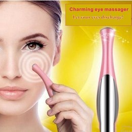 $enCountryForm.capitalKeyWord Australia - Portable Electric Thermal Eye Massager Eye Care Beauty Instrument Device Remove Wrinkles Dark Circles Puffiness Massage Relaxation