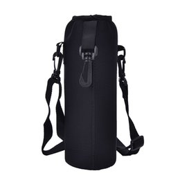 $enCountryForm.capitalKeyWord Australia - 1000ML Water Bottle Cover Bag Pouch w Strap Neoprene Water Bottle Carrier Insulated Bag Pouch Holder Shoulder Strap