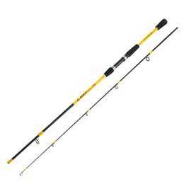 Discount wholesale spinning fiber - Strengthen Fishing Rod 1.8M 2.1M FRP Fiber Casting M Adjustable Spinning Rod Vara De Pesca Outdoor Fishing Gear