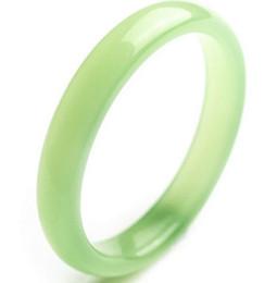 $enCountryForm.capitalKeyWord Australia - Jade bracelets jade bracelets light green high imitation jade agate bracelet thin bracelet
