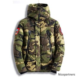 winter parka jackets for men Australia - yhe coat Fashion Men s Camouflage Winter Jackets Thick Warm Camo Coats For Man Thermal Parkas High Quality Size M-XXXL