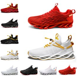 New style shoes for meNs online shopping - New Non Brand Running Shoes for Men Triple Black White Red Mens Trainers Outdoor Jogging Walking Breathable Sports Sneakers Style