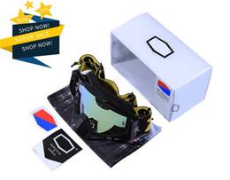 Windproof glasses online shopping - 2019 Motocross Goggles Motorcycle Glasses PU Windproof Skiing Moto Bike Goggles Glass Dirt Bike Helmet Visors ski goggles with box
