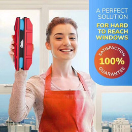Glasses cleaner wipes online shopping - High Building Glass Cleaner Strong Suction Wipe Window Household Cleaning Tools Portable Small Exquisite Firm Hot Sale hf I1