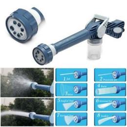 Multi-Funktions-8 in 1 Spray Water Gun Dispenser Garten Sprayer Kunststoff-Schlauchleitung Conector Ez Jet Wasserkanone Sprayer Werkzeuge CCA11545-A 40pcs im Angebot