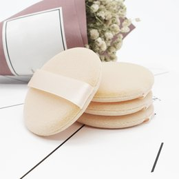 $enCountryForm.capitalKeyWord Australia - 5pcs Woolen Cloth Soft Skin-friendly Face Smooth Foundation Powder Cosmetic Puff Organic Cotton Pads Makeup Sponge Puff Beauty