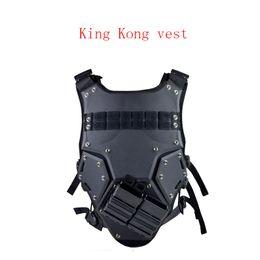 Black tactical vests online shopping - Outdoor tough combat EVA board protective vest TMC tactical vest M4 magazine box TF3 tactical