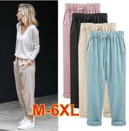 Mujer Online De Pantalones Lino jqc3A4R5LS
