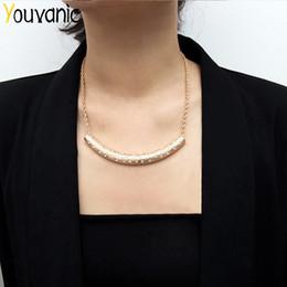 $enCountryForm.capitalKeyWord Australia - Youvanic Crystal Exaggerated Chain Chocker On Neck For Women Geometric Heavy Metal Pendant Necklace Vintage Collier Jewelry 2337