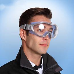 Venta al por mayor de Transparente gafas de seguridad gafas a prueba de viento a prueba de golpes tácticos anti-vaho Riding Trabajo Anti-polvo del Trabajo Industrial Eye los vidrios protectores
