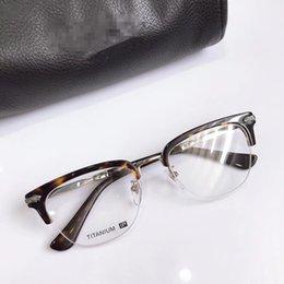 $enCountryForm.capitalKeyWord NZ - Retro-Vintage unisex eyebrow eyewear frame pure-titanium SEVAL 53-20-145 for prescription glasses full-set case freeshipping