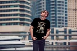 $enCountryForm.capitalKeyWord Australia - Steampunk Adventure Cool Men's T-Shirt Tee Top Great Birthday Gift Present T-shirt For Men Printed Custom Short Sleeve Big Size Couple T Shi