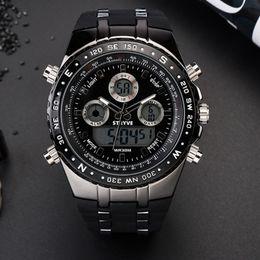 $enCountryForm.capitalKeyWord Australia - Fashion Sports Multi-Functional Electronic Popular Casual Men's Watch Luminous Digital Wristwatches Sale C19010301