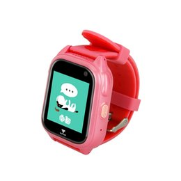 track locator Australia - Kids Locator Smart Watch Telephone SOS Anti-Lost IP68 Waterproof Watch GPS Historical Track 1.4 Inch For For Android