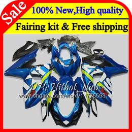$enCountryForm.capitalKeyWord Australia - Stock blue Fairing Bodywork For SUZUKI GSX-R1000 GSXR 1000 09 10 11 12 13 15 33HT17 GSX R1000 K9 GSXR1000 2009 2010 2011 2012 2014 2015