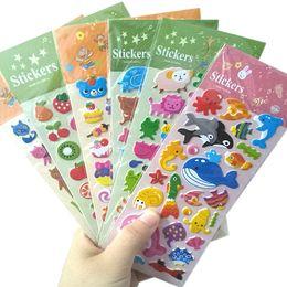 $enCountryForm.capitalKeyWord Australia - 30packs lot kawaii animal 3D decorative stickers DIY adhesive stationery sticker reward gifts for kids wholesale