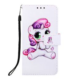 $enCountryForm.capitalKeyWord Australia - Painted leather case pu shell can be inserted into the credit card holder anti-fall wallet phone case for iphone 5.8 6.1 6.5
