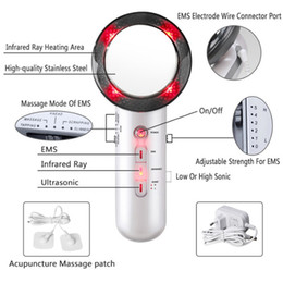 $enCountryForm.capitalKeyWord Australia - Ultrasonic Electric Body Massager Beauty Guide Fat Burning Machine Face Massager Slimming Massage Weight Reducing Apparatus