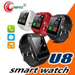 $enCountryForm.capitalKeyWord Australia - Smartwatch Bluetooth Smart Watch U80 for iPhone IOS Android Smart Phone Wear Clock Wearable Device Smartwach PK U8 GT08 DZ09 W8