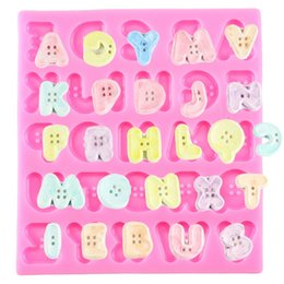 $enCountryForm.capitalKeyWord Australia - Sugarcraft Button Letter Fondant Molds Silicone Mould Candy Chocolate Gumpast Mold Cake Decorating Tools Kitchen Baking Tool