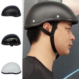$enCountryForm.capitalKeyWord Australia - Motorcycle Safety Half Helmet Skull Cap Hat Chopper Bobber Biker
