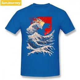 $enCountryForm.capitalKeyWord Canada - 2019 men s designer clothing tshirt Last Wave Dinosaur Retro Men T Shirt Top Random Big Size Cotton Short Sleeve Mens Table