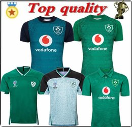 Polo shirt suits online shopping - Top quality Rugby jerseys World Cup home away Rugby jersey training suit POLO shirt S XL