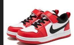 Moda primavera y otoño Niños y niñas Zapatos deportivos al aire libre Niños Estudiantes Zapatos de baloncesto Niños ocasionales Snealers Zapatillas deportivas para correr en venta