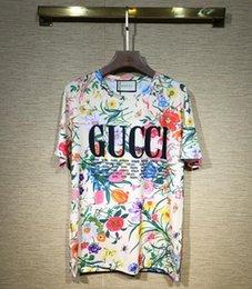Yeni erkek kadın T-Shirt moda yaz kısa kollu Klasik tasarım baskı elbise unisex casual T gömlek G125 indirimde