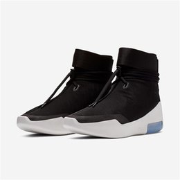 $enCountryForm.capitalKeyWord UK - 2018 Authentic Air Fear of God 1 Boots Light Bone Grey Black Zoom 1S Men Basketball Shoes AR4237-001 AR4237-002 Running Shoes Size 7-13