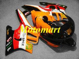 $enCountryForm.capitalKeyWord Australia - Motorcycle Fairing kit for HONDA CBR600F3 95 96 CBR 600 F3 1995 1996 ABS Red orange black Fairings set+gifts HG04
