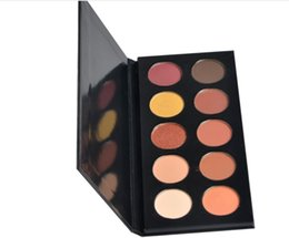 $enCountryForm.capitalKeyWord UK - Custom logo Makeup Matte and Shimmer Highly Pigmented Professional Cosmetic 10 Colors Eyeshadow Palette Factory Manufacturer No Logo