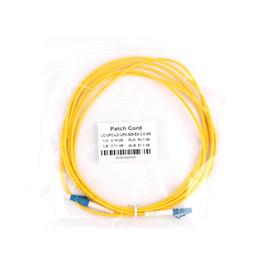Optical Fiber Patch Cable UK - 50pcs LCUPC to LC UPC 3m Fiber Patch Cable optical fiber Patch cord 3.0mm PVC G652d , Jumper Simplex FTTH Optic Cable 1m