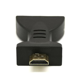 vga component adapter UK - 2019 New High Quality Gold-plated HDMI to 3 RGB RCA Video Audio Adapter AV Component Converter
