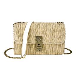$enCountryForm.capitalKeyWord UK - OCARDIAN 2019 New Fashion Bag For Women's Luxury Designer Shoulder Bags Solid Color Handbag Ladies Woven Bag Beach J18