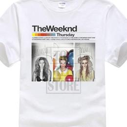 $enCountryForm.capitalKeyWord Australia - Individuality Short Sleeved Cut Holes Wild New The Weeknd Thursday Music Men T Shirt 100% Cotton Geek Family Top Tee