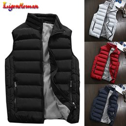 $enCountryForm.capitalKeyWord Australia - Winter Men 2019 Casual Waistcoat Plus Size 5XL Vest Spring Autumn Men's Vest Mens Coats Men New Stylish Warm Sleeveless Jacket