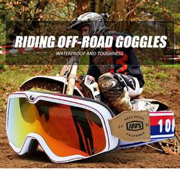 Windproof glasses online shopping - 2020 Motocross Goggles Motorcycle Glasses PU Windproof Skiing Moto Bike Goggles Glass Dirt Bike Helmet Visors ski goggles with box